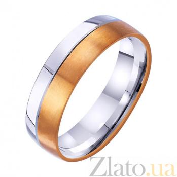 Золотое обручальное кольцо Нежный шепот любви TRF--4411727