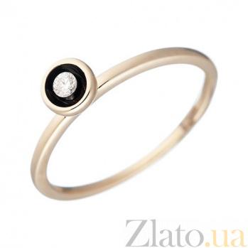 Золотое кольцо с бриллиантом Грета 1К193-0022