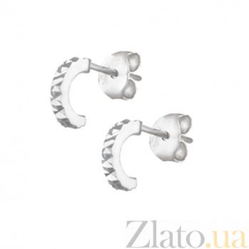 Сережки из серебра Вита SLX--С2/395