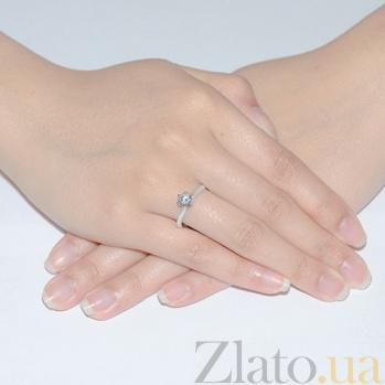 Кольцо из белого золота Вечная любовь EDM--КД4096/1SW