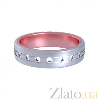 Золотое кольцо с бриллиантами Соловей Бог и сердце 000029859