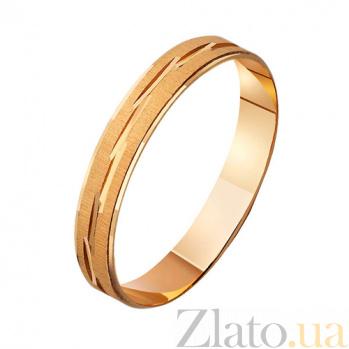 Золотое обручальное кольцо Таинство брака TRF--411883