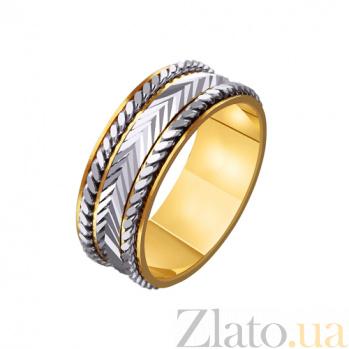 Золотое обручальное кольцо Мой талисман TRF--4411606
