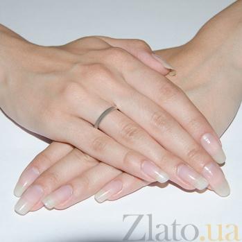 Серебряное обручальное кольцо Единство HUF--10201-В