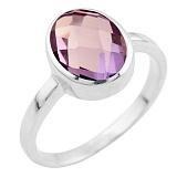 Серебряное кольцо Наоми с александритом