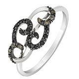 Золотое кольцо Джилиан с бриллиантами