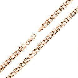 Золотой браслет Виталина в желтом цвете фантазийного плетения