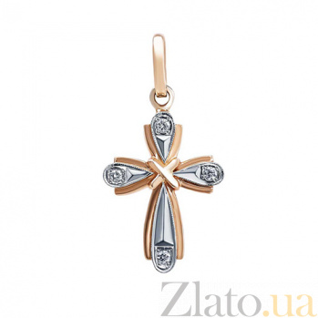 Крестик с бриллиантами Minnie AQA--705-004