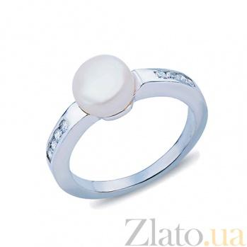 Кольцо из серебра Морская жемчужина AQA--R00758PW