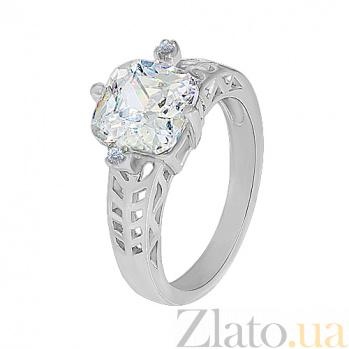 Кольцо из серебра с фианитами Мальвина 10000139