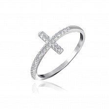 Серебряное кольцо Гера с фианитами