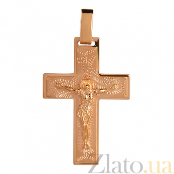 Золотой крест Цвет Христа HUF--11053-М НВ