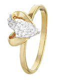 Серебряное кольцо с цирконием Lovely