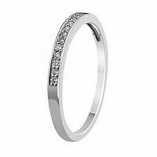 Кольцо из белого золота Признание с бриллиантами