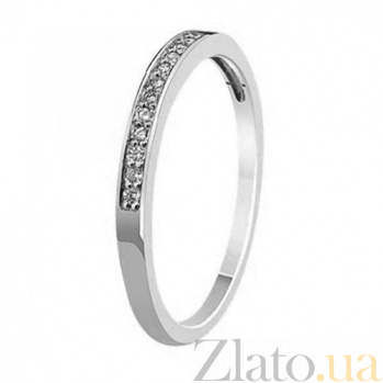 Кольцо из белого золота Признание с бриллиантами KBL--К1572/бел/брил