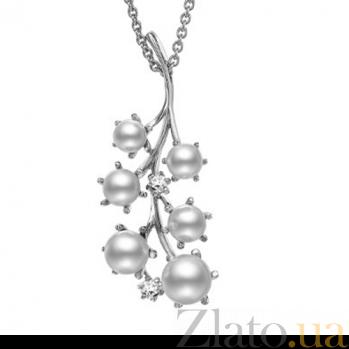 Кулон Baruch из белого золота с бриллиантами P-Mi-W-d2-p7