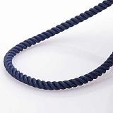 Шелковый шнурок Авгур с серебряной застежкой