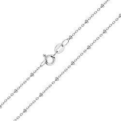Серебряная цепочка в якорном плетении 000103117