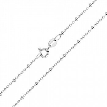 Срібний ланцюжок в якірному плетінні 000103117