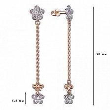 Удлиненные серьги Мери