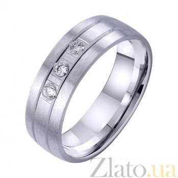 Золотое обручальное кольцо Омут любви TRF--4221731