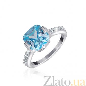 Серебряное кольцо с фианитами Джейн 000025468