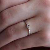 Золотое помолвочное кольцо Астелла с бриллиантами