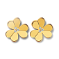 Серьги из желтого золота с бриллиантами Frivole E-VCA-Frivole-E-diam