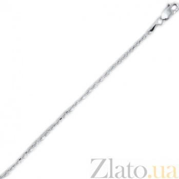 Серебряный браслет Шанхай, 2 мм, 19 см 000027551
