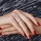 Кольцо в красном золоте Анита с бриллиантами SVA--1190519201/Бриллиант