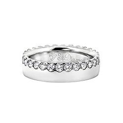 Золотое кольцо с бриллиантами Рыцарь и королева