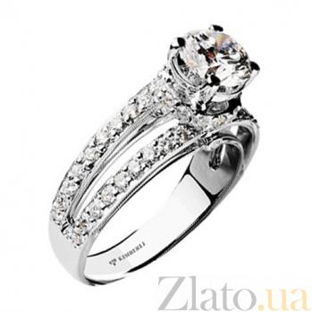 Золотое кольцо с бриллиантами Сольвейг KBL--К1561/бел/брил