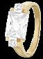 Серебряное кольцо с фианитами Болэйд 000025603