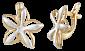 Серебряные серьги Подснежники SLX--С32/139