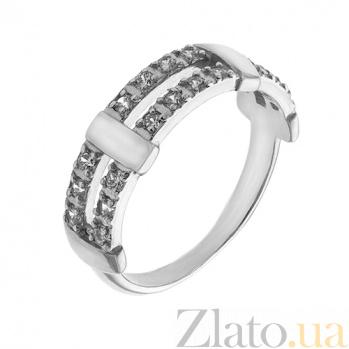 Серебряное кольцо с фианитами Бейли AUR--71860б