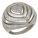 Кольцо из белого золота Розалинда
