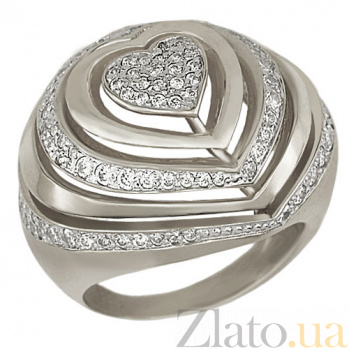 Кольцо из белого золота Розалинда VLT--Т141