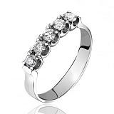 Золотое кольцо с бриллиантами Симфония