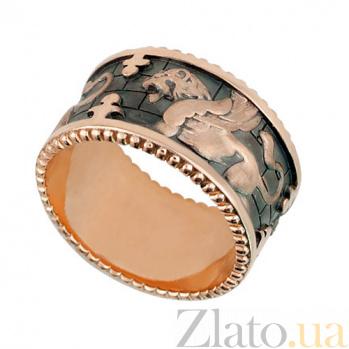 Кольцо из красного золота Грифон VLT--Т1301
