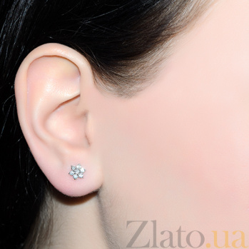 Серьги с бриллиантами Crux E0326