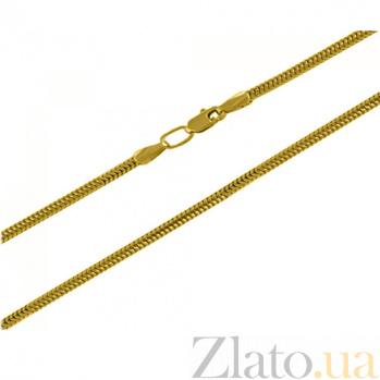 Цепочка из желтого золота Снейк 1 мм 6146/2л