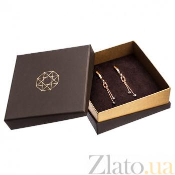 Брендовая упаковка Zlato для серег размерами 90х90мм 9х9