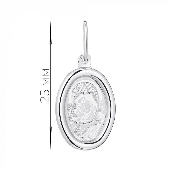 Серебряная ладанка Икона Божией Матери 000123255 000123255