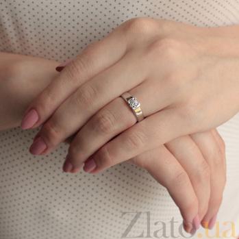 Кольцо из белого золота Доверие 000010486
