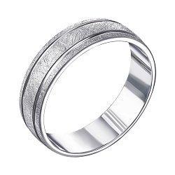 Серебряное обручальное кольцо 000119335