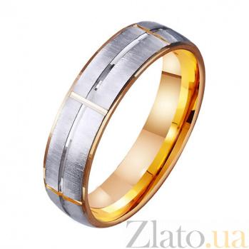 Золотое обручальное кольцо Матадор TRF--411215