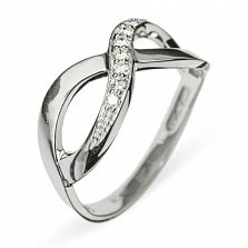 Золотое кольцо с бриллиантами Corona Borealis