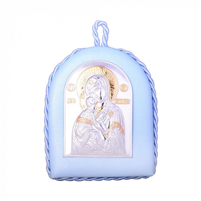 Икона Божия Матерь Владимирская с серебрением и позолотой 000131699 000131699