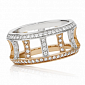 Кольцо Argile-F из белого и розового золота R-ArF-W/R-192d