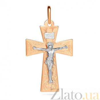 Золотой крестик Светоч SUF--511041нри